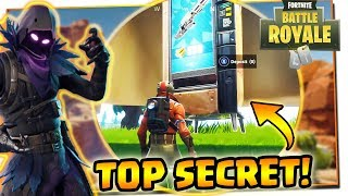 THE GUN MACHINE?! TOP SECRET! FORTNITE
