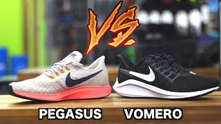 Apoyarse represa Prefijo  Nike Pegasus 35 vs Vomero 14 - Which Is Better? - 5KRunning.com