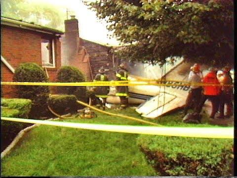 Lorna Rd Mattapan MA airplane crash MVA