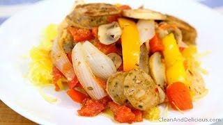 Healthy Sausage, Peppers & Onions Recipe - Clean & Delicious