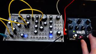 Pittsburgh Modular Lifeforms SV1 & Source Audio Nemesis Delay
