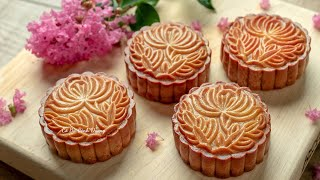 Mooncake recipe no need oven (simple & best)