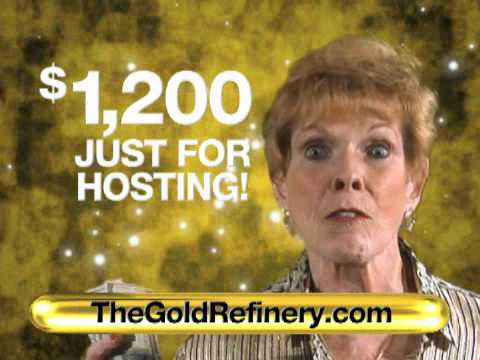The Gold Refinery will help you host your Gold Party
