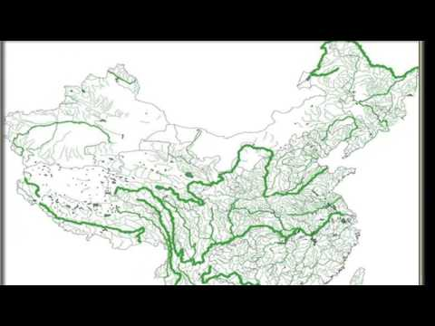 Rivers of China , geography exercise