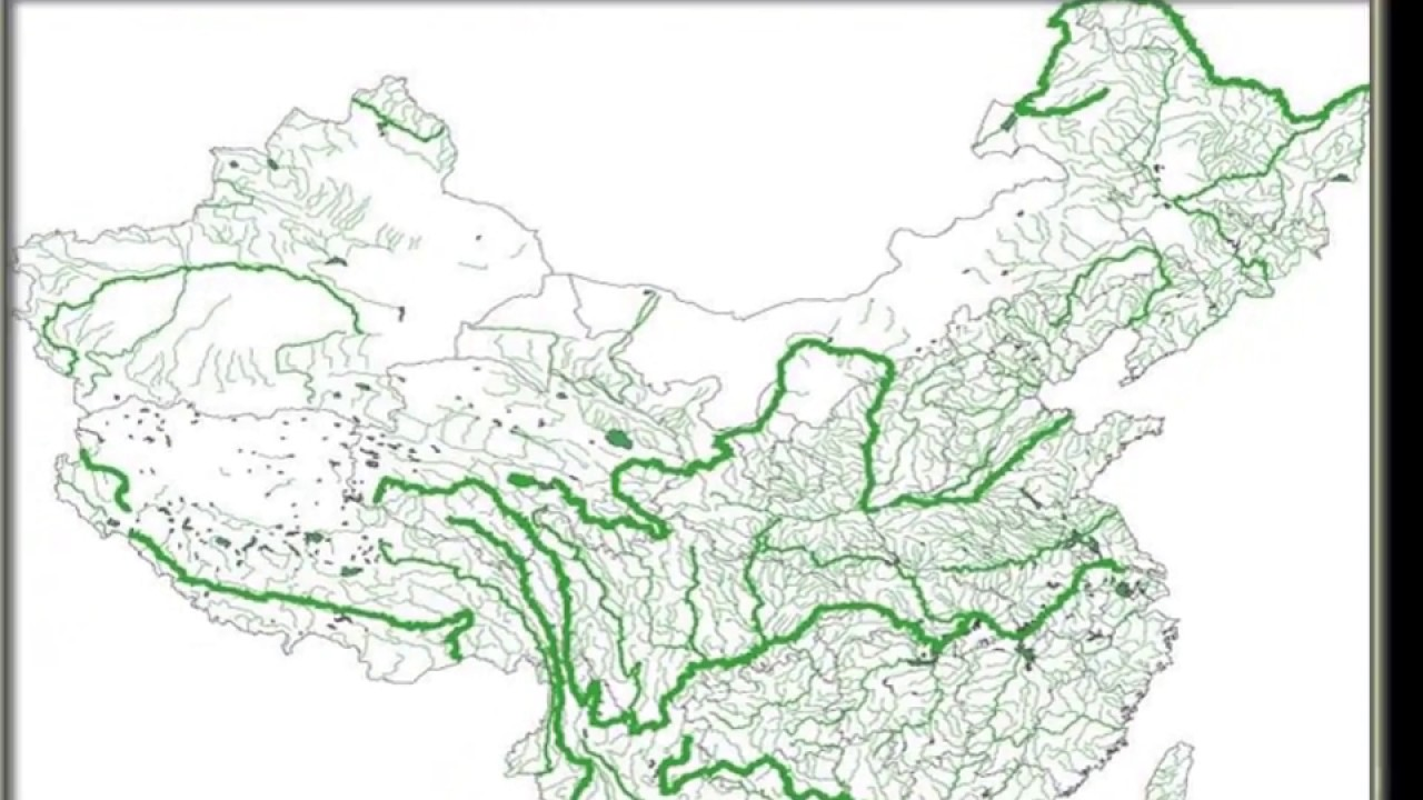 Rivers Of China Geography Exercise YouTube - China rivers map