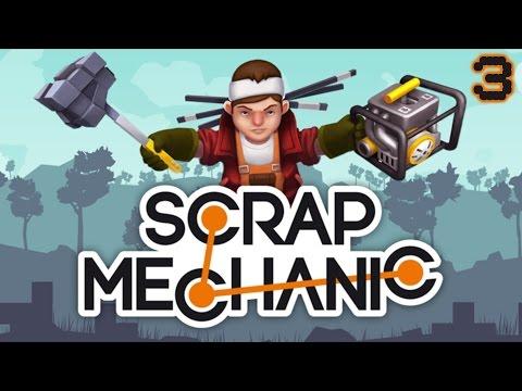 בואו נשחק - Scrap Mechanic - חללית