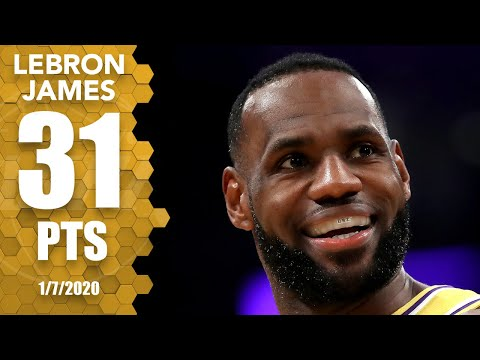 lebron-james-drops-31-points,-6-3-pointers-vs.-knicks-at-home-|-2019-20-nba-highlights