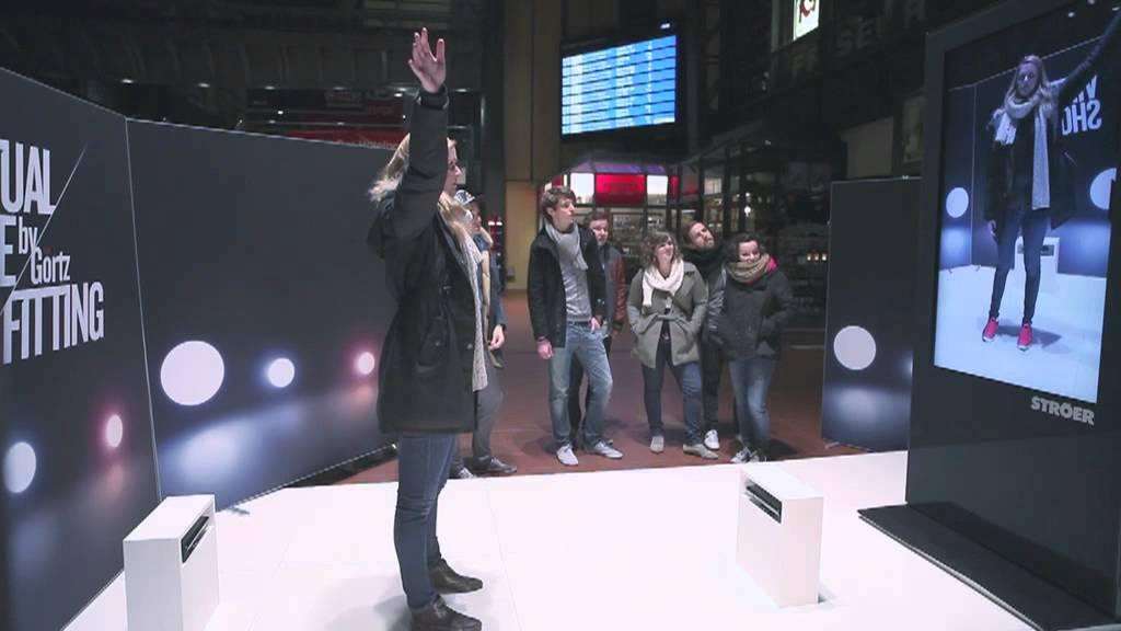 Essayer virtuellement des chaussures grâce à Kinect