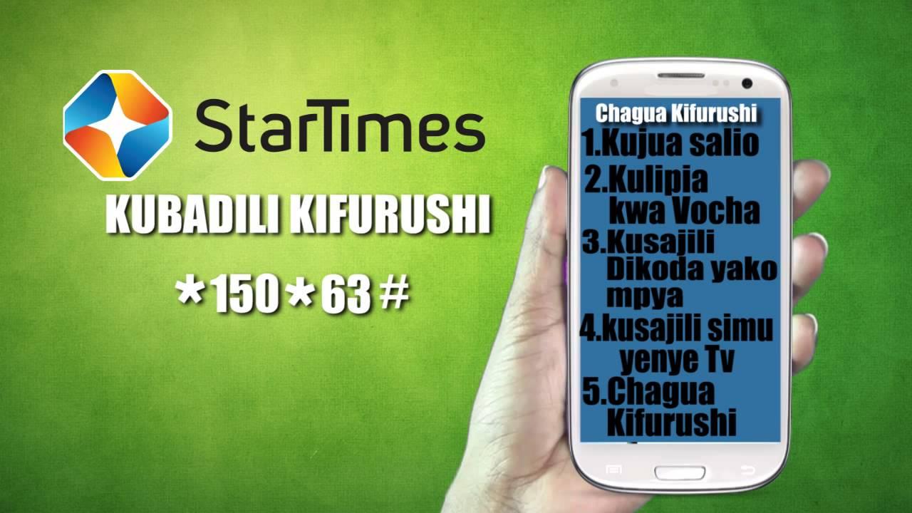 StarTimes Advert (Jinsi ya Kubadili Kifurushi)