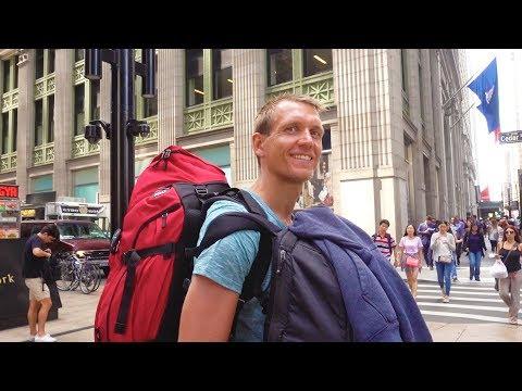 New York Anreise - auf nach Manhattan - USA Reise auf Weltreise | VLOG #290