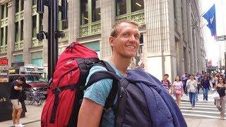 New York Anreise - auf nach Manhattan New York City - USA auf Weltreise | VLOG #290