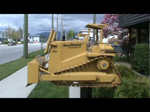 Cat D9n Mailbox  Youtube