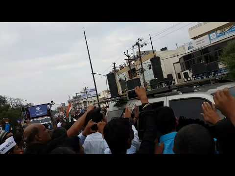 Rahul Gandhi in Gujarat (Godhra) | Parivartan reli| Road show| Support from Public | Congress