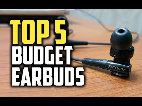 Best Budget Earbuds in 2018 - Which Are The Best Budget Earbuds?