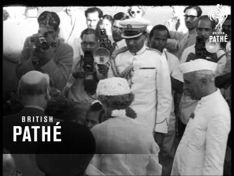 Earl Attlee Arrives In New Delhi AKA Earl Attlee In New Delhi (1956)