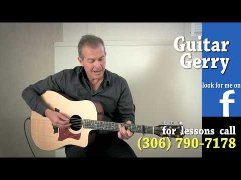 Blue Rodeo - Bad Timing - Guitar Gerry - Lessons Regina