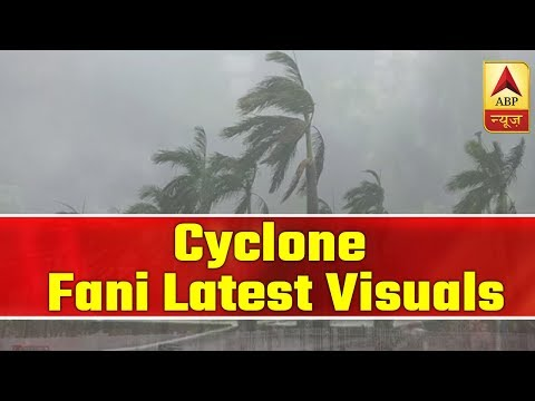 Latest Visuals Of Cyclone Fani From Odisha | ABP News