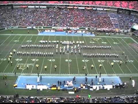 Spirit of Gold Marching Halftime at the Music City Bowl 2012