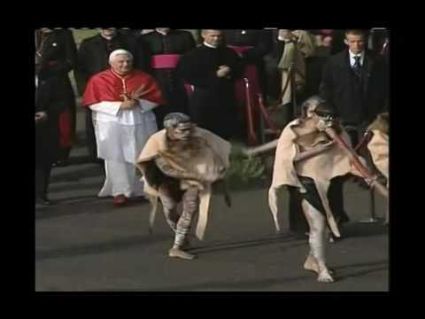 WYD Sydney 2008 - Papal Welcome