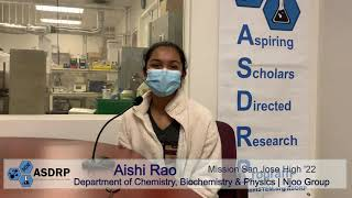 Researcher Interview: Aishi R., Organic Chemistry