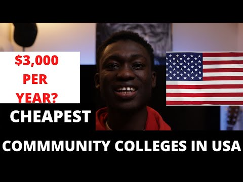 Most affordable | 6 Cheapest Community colleges in USA for international students (Top 6)