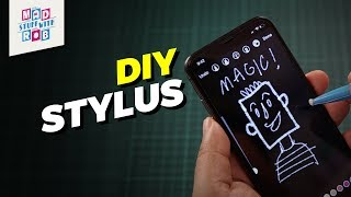 How To Make A Stylus Using Any Pen/Pencil