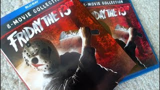 FRIDAY THE 13TH - 8 Film Ultimate Collection Blu Ray Unboxing