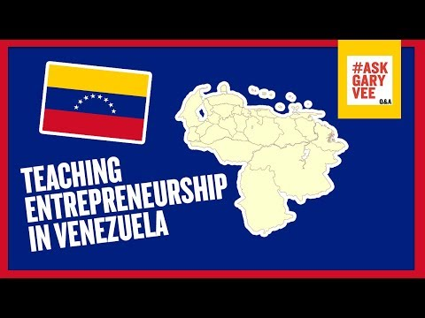 Advice on Teaching Entrepreneurship in Venezuela