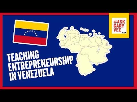 Advice on Teaching Entrepreneurship in Venezuela