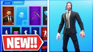 *NEW* JOHN WICK FREE REWARD CHALLENGES - Fortnite Wicks Bounty LTM (Fortnite Battle Royale)