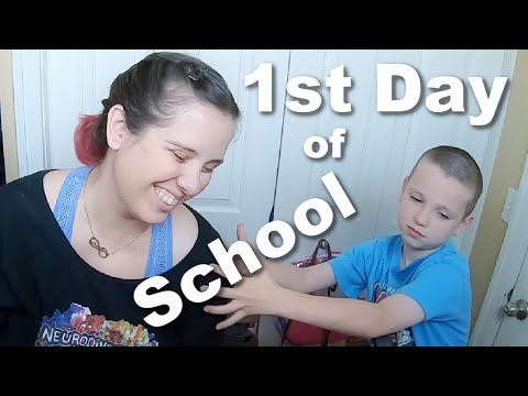 Autism  The 1st Day of Online School  2020