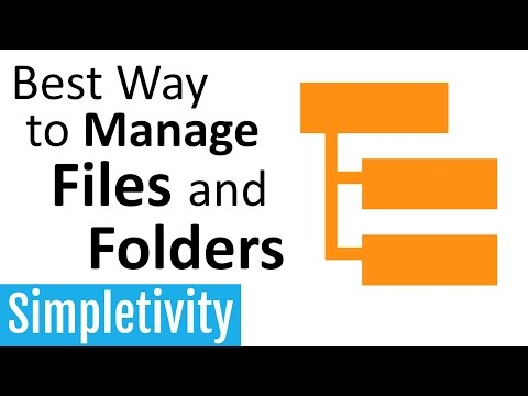 The Best Way to Manage Files and Folders (ABC Method)
