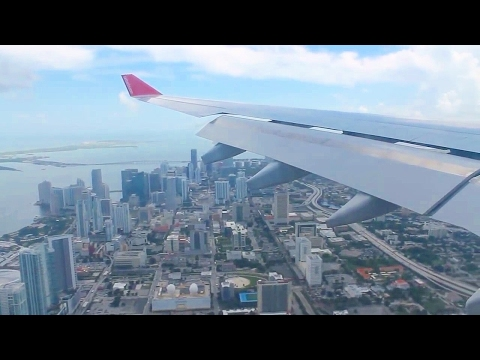 Air Berlin AB7210 Berlin Tegel - Miami A330-200 Safety, Takeoff, Inflight & Landing