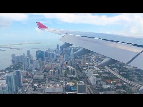 Air Berlin AB7210 Berlin Tegel - Miami A330-200 Safety, Takeoff, Inflight & Landing