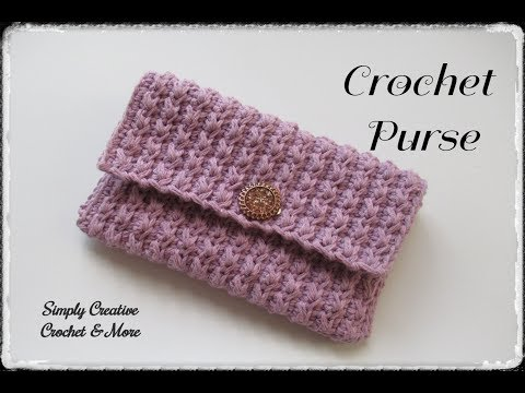 Crochet Simple Purse