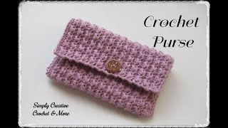 Crochet Simple Purse