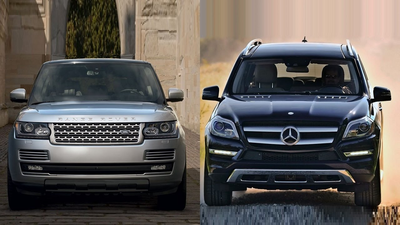2016 range rover vs 2016 mercedes benz gl class youtube. Black Bedroom Furniture Sets. Home Design Ideas