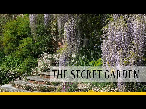 The real secret garden; the most famous garden in literature