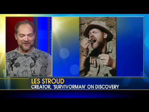 "Survivorman's Les Stroud on His ""Will to Live"""