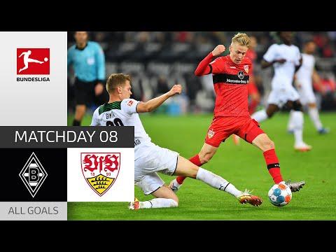 Borussia Moenchengladbach VfB Stuttgart Goals And Highlights
