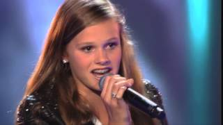 Liz sings 'Bring Me To Life' - The Voice Kids 2015 -The Blind Auditions