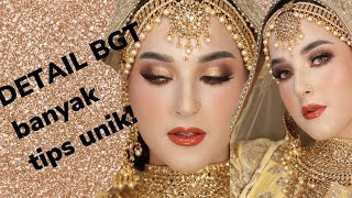 RAHASIA MAKEUP MUA HITS ! JANUARY CHRISTY - Bollywood Look