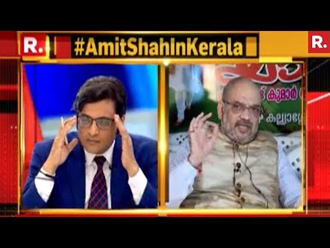 Amit Shah Speaks To Arnab Goswami - Exclusive Interview