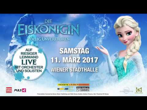 Frozen - Die Eiskönigin Live in der Stadthalle Wien am 11.03.2017