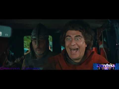 Угон Полицейского Микро Автобуса ... отрывок из фильма (Пришельцы 2: Коридоры Времени) 1998