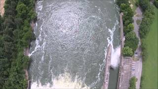 Aerial Video of the Savannah River