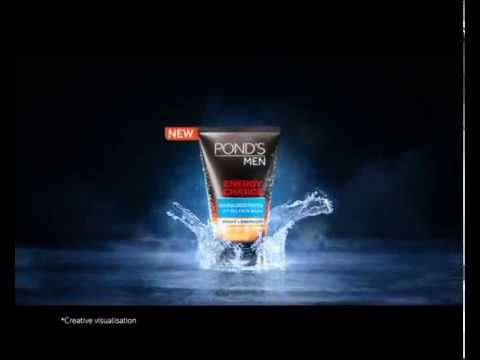 Fight 5 Sun Dullness Problems with Pond's Men Energy Charge Icy Gel Facewash (30 secs)