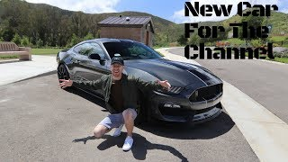New Car Added To The Channel - Shelby GT350!!