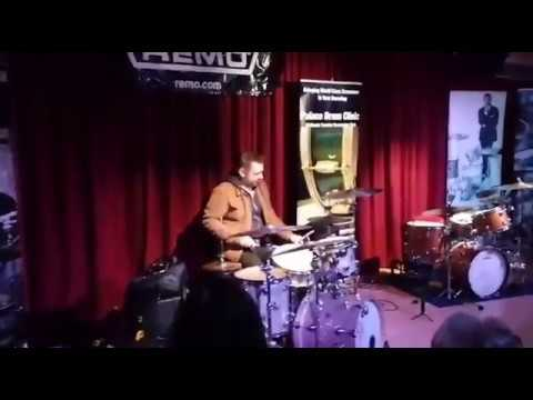 Rob Brian - Opening solo at The Palace Theatre Drum Clinic.