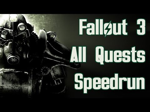 Fallout 3 All Quests Speedrun in 1:18:11 (World Record) thumbnail